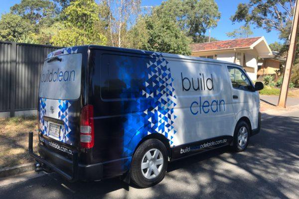 Buildclean Van